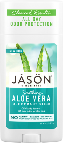 Jason Soothing Aloe Vera Pure Natural Deodorant Stick