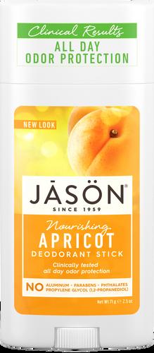 Jason Nourishing Apricot Pure Natural Deodorant Stick