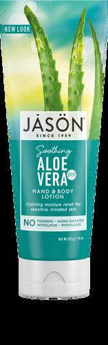 Jason Organic Soothing Aloe Vera Pure Natural Hand & Body Lotion