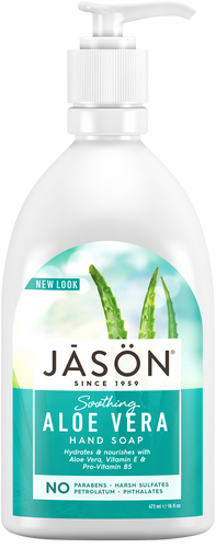 Jason Soothing Aloe Vera Pure Natural Hand Soap