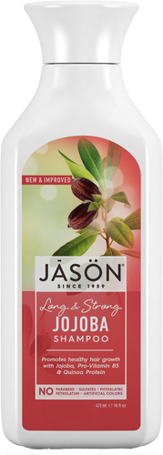 Jason Organic Long & Strong Jojoba Pure Natural Shampoo