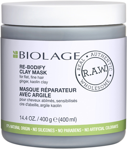 Matrix Biolage R.A.W. Re-Bodify Clay Mask