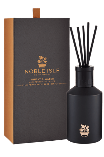 Noble Isle Whisky & Water Fine Fragrance Reed Diffuser - 180ml