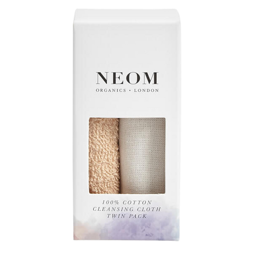 Neom 100% Cotton Cleansing Cloth Twin Pack