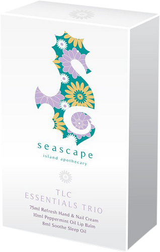 Seascape Island Apothecary TLC Essentials Trio Gift Set