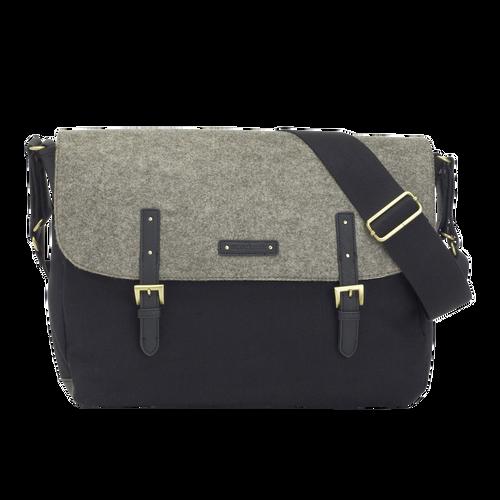 Storksak Ashley Changing Bag Felt Grey