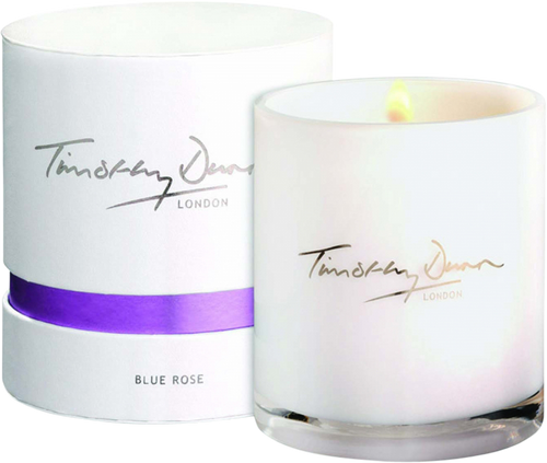 Timothy Dunn Blue Rose Candle - Luxury 345g