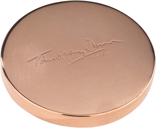 Timothy Dunn Luxury Rose Gold Candle Lid