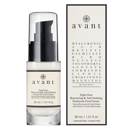 avant Eight-hour Anti-Oxidising & Retexturing Hyaluronic Facial Serum