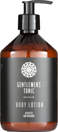 Gentlemen's Tonic Body Lotion - 500ml