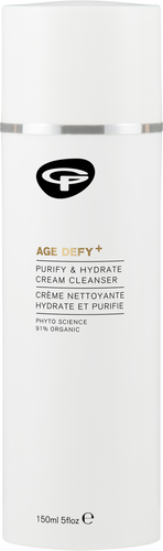 Green People Age Defy+ Purify & Hydrate Cream Cleanser - 150ml
