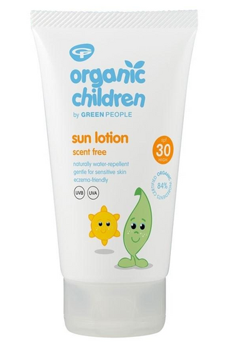 Green People Organic Scent Free Children Sun Lotion SPF30 - 150ml