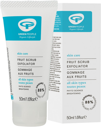 Green People Fruit Scrub Exfoliator - 50ml