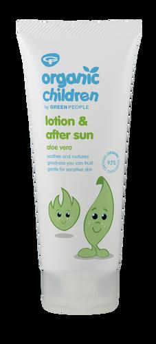 Green People Organic Children Aloe Vera Lotion & After Sun