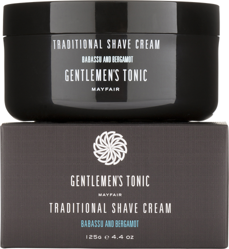Gentlemen's Tonic Traditional Shave Cream - 125g