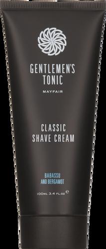 Gentlemen's Tonic Classic Shave Cream - 100ml