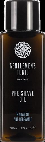 Gentlemen's Tonic Pre Shave Oil - 50ml