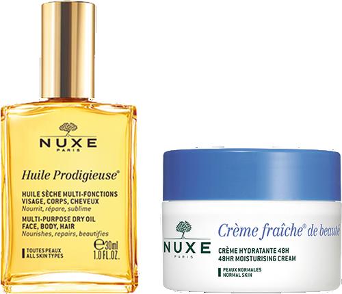 Nuxe Crème Fraiche De Beauté Set - Normal Skin