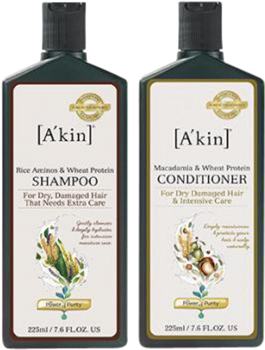 A'kin Dry/Damaged Hair Care Duo