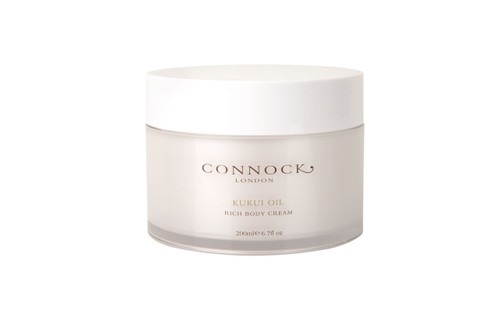 Connock London Kukui Oil Rich Body Cream