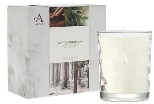 Arran Sense of Scotland Seasonal Candle Soft Cinnamon