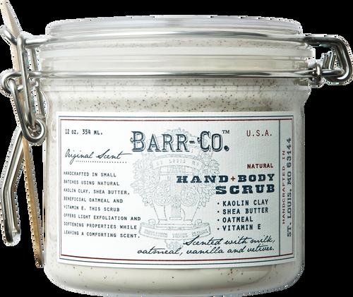 Barr-Co. Natural Clay Hand & Body Scrub