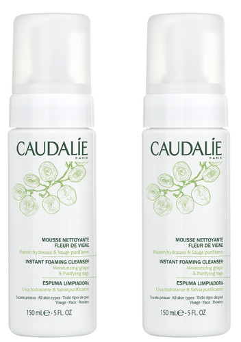 Caudalie Instant Foaming Cleanser Duo