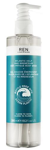 REN Atlantic Kelp and Magnesium Anti-fatigue Body Wash Ocean Plastic
