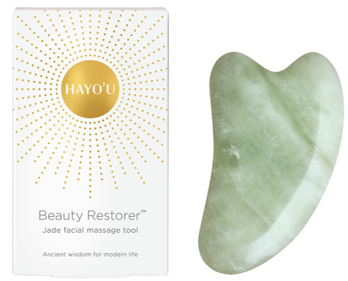 HAYO'U Beauty Restorer - Jade Facial Massage Tool