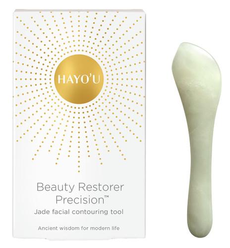 HAYO'U Beauty Restorer Precision - Jade Facial Contouring Tool