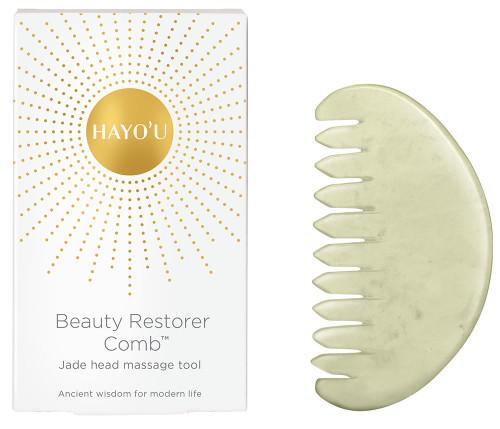 HAYO'U Beauty Restorer Comb - Jade Head Massage Tool