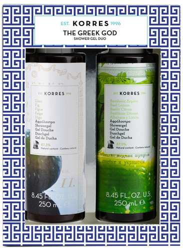 Korres The Greek God Shower Gel Duo