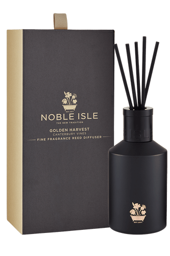 Noble Isle Golden Harvest Fine Fragrance Reed Diffuser