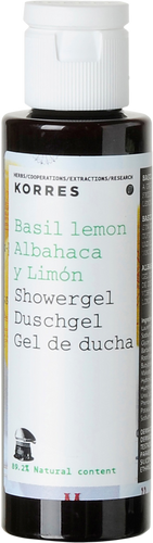Korres Basil Lemon Travel Showergel - 40ml