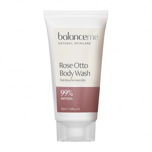 Balance Me Rose Otto Travel Body Wash - 50ml