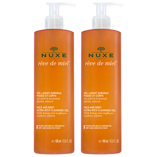 NUXE Reve de Miel Cleansing Gel Duo