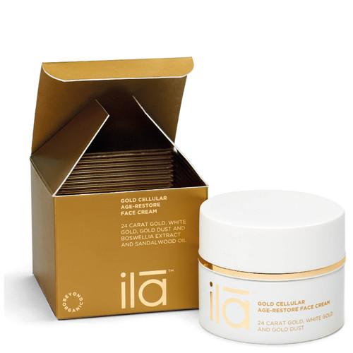 Ila Gold Cellular Age-Restore Face Cream - 50g
