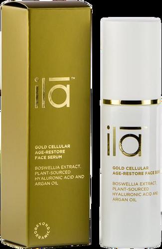 Ila Gold Cellular Age-Restore Face Serum - 30ml
