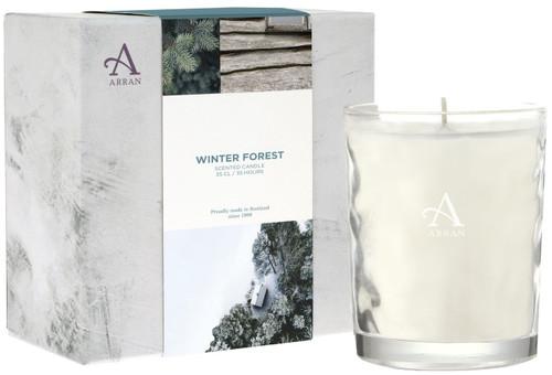Arran Sense of Scotland Winter Forest Candle