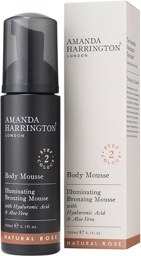 Amanda Harrington Body Mousse (Natural Rose)