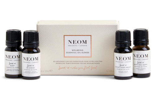 Neom Wellbeing Essential Oil Blends x 4