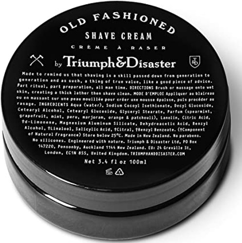 Triumph & Disaster Shave Cream Jar