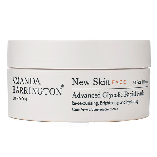 Amanda Harrington New Skin Face Advanced Glycolic Facial Pads