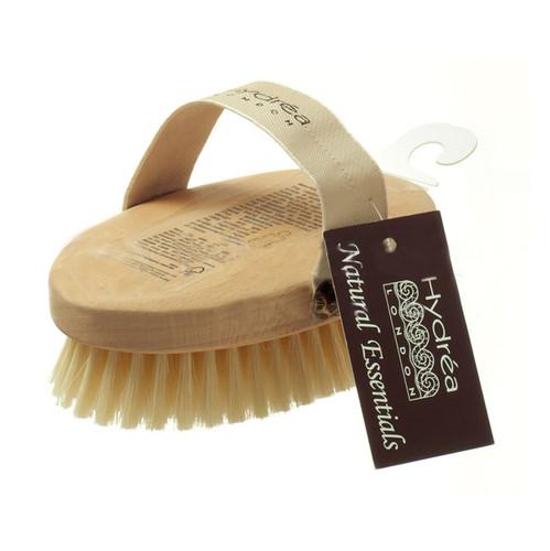 Natural Bath Sponge Professional Body Brush with Natural Bristles