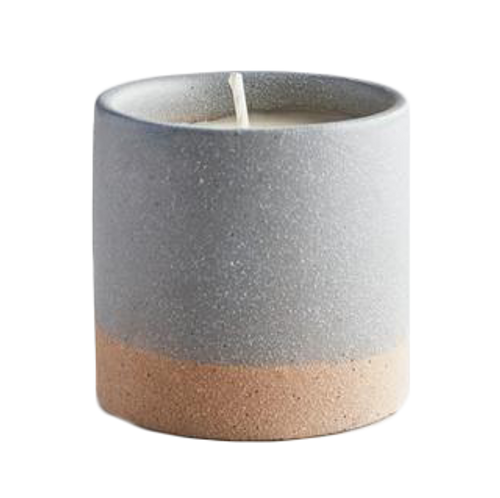 St Eval Candle Earth & Sky Tranquility Blue Pot