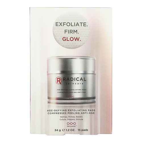 Radical Skincare Age-Defying Exfoliating Pads (15 pads)