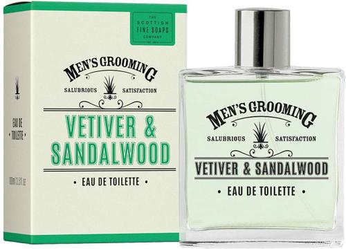 Scottish Fine Soaps Vetiver & Sandalwood Eau de Toilette