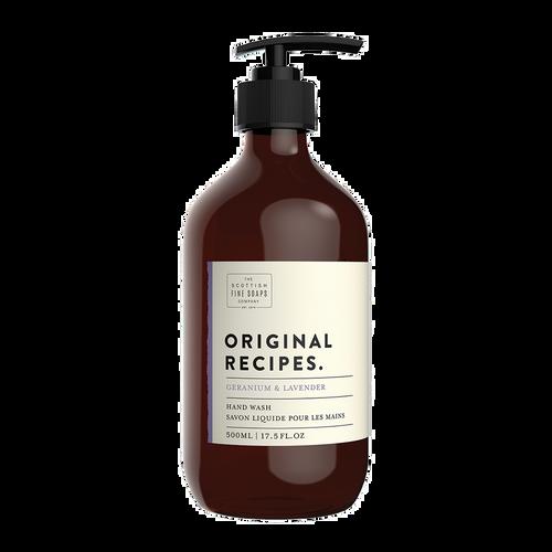 Scottish Fine Soaps Original Recipes Geranium & Lavender Hand Wash