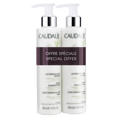 Caudalie Gentle Cleansing Milk Duo