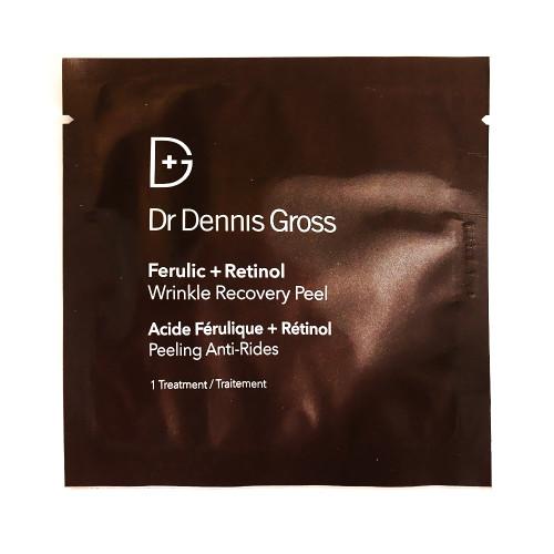 SAMPLE - Dr Dennis Gross Wrinkle Recovery Peel 2 treatment sachets